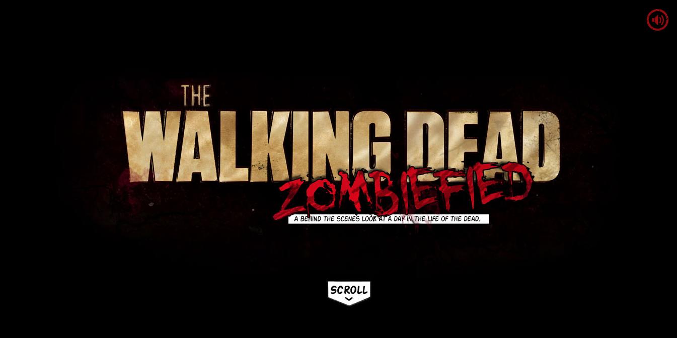 Walking Dead параллакс эффект