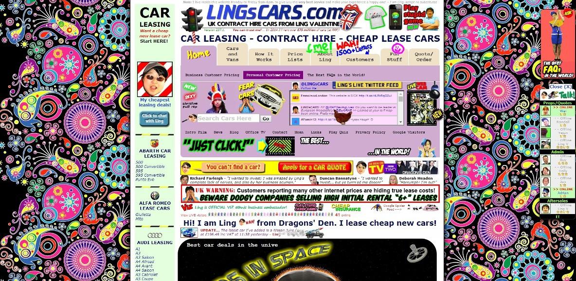 улучшить дизайн landing page: плохой пример