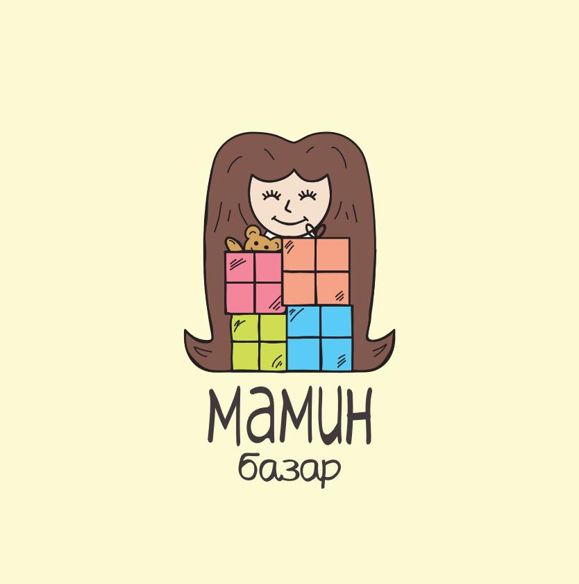Логотип Мамин Базар